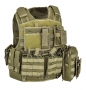 DEFCON 5 BODY ARMOR CARRIER SET VERDE MILITARE